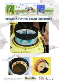 Create a Flying Crane Zoetrope